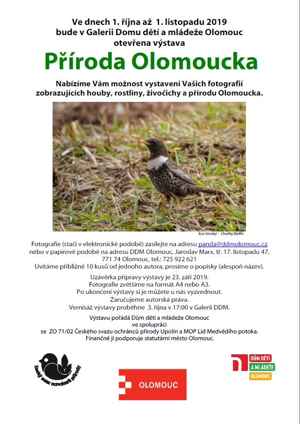 Výstava příroda Olomoucka