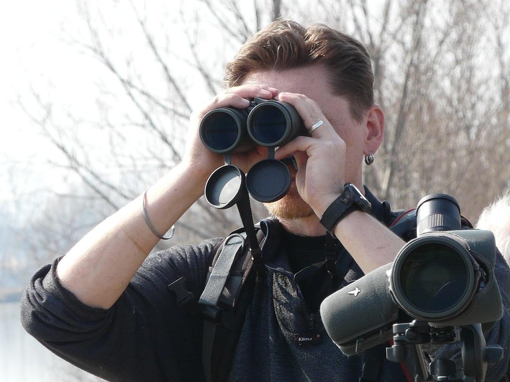 První ornitologická exkurze na Hradeckém rybníku v Tovačově