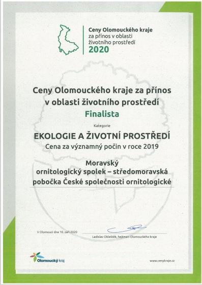 Ceny hejtmana Olomouckého kraje